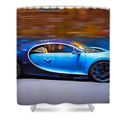 Bugatti Chiron 3 Shower Curtain