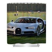 Bugatti Chiron Shower Curtain