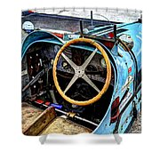 Bugatti Driver Side 1925 Shower Curtain