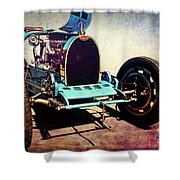Bugatti Type 35c Shower Curtain