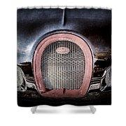 Bugatti Veyron Legend Grille Emblem -0488ac Shower Curtain