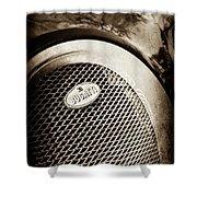 Bugatti Veyron Legend Grille Emblem -0514s Shower Curtain