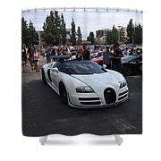 Bugatti Veyron Shower Curtain