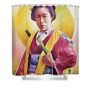 Bugeisha One Shower Curtain