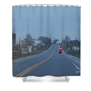 Buggies Travel In All Directions Shower Curtain