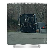 Buggies Traveling Both Ways Shower Curtain