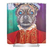 Bugsy First Earl Of Primrose Shower Curtain