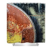 Buick Fender Abstract Shower Curtain