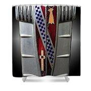 Buick Grill Emblem Shower Curtain