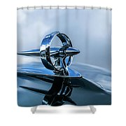 Buick Hood Ornament Shower Curtain
