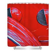 Buick Lasalle Portholes And Fender #3 Shower Curtain