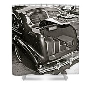 Buick Road Trip Shower Curtain
