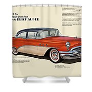 Buick Super Shower Curtain