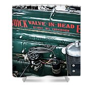 Buick Valve In Head Eight Shower Curtain