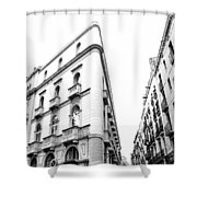 Building Barcelona Shower Curtain