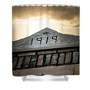 Building Date Shower Curtain