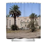 Building In A Broken Paradise  Shower Curtain