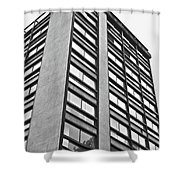 Building In Mexico Shower Curtain