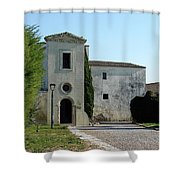 Building In Spain Shower Curtain