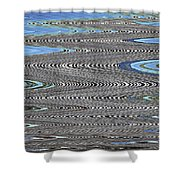 Building Stretch Abstract Shower Curtain