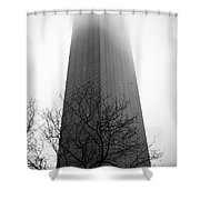 Building To Oblivion Shower Curtain