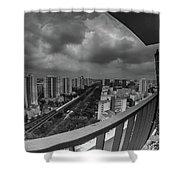 Bukit Batok Shower Curtain