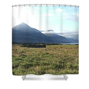 Bulandstindur Shower Curtain
