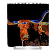 Bull II   14616 Shower Curtain