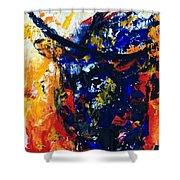 Bull Shower Curtain