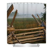 Bull Run Virginia Shower Curtain