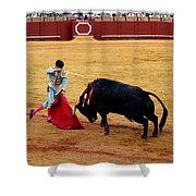 Bullfighting 21 Shower Curtain