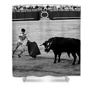 Bullfighting 22b Shower Curtain