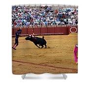 Bullfighting 35 Shower Curtain