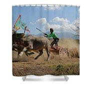 Bullrace  Shower Curtain