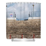 Bullring Stands In Majorca Shower Curtain