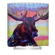 Bullwinkle Shower Curtain