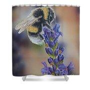 Bumblebee Nr3 Shower Curtain