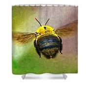 Bumblebees Flight Shower Curtain