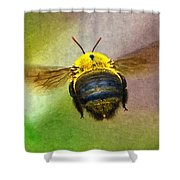 Bumblebees Flight Shower Curtain