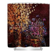Bunch Of Dried Flowers  Shower Curtain