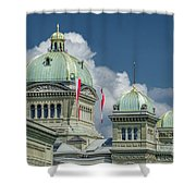 Bundeshaus The Federal Palace Shower Curtain
