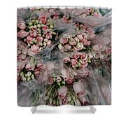 Bundles Of Pink Roses Are Gathered Shower Curtain