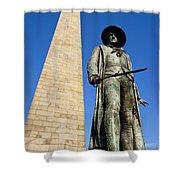 Bunker Hill Memorial Shower Curtain