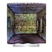 Bunker Walls Shower Curtain