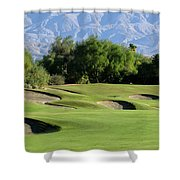Bunkers At Shadow Ridge 2 Shower Curtain