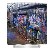 Bunkers Of Ft Wetherill Shower Curtain