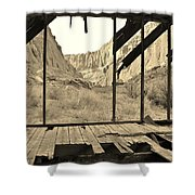 Bunkhouse View 5 Shower Curtain