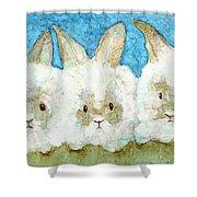 Bunnies Shower Curtain