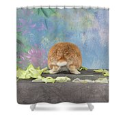 Bunny Butts Are Beautiful  Shower Curtain