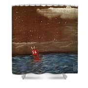 Buoy 56 Shower Curtain
